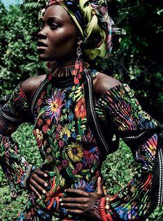 Lupita Nyong'o's Stunning October Vogue Cover Editorial Was Shot in Her Native Kenyan Village