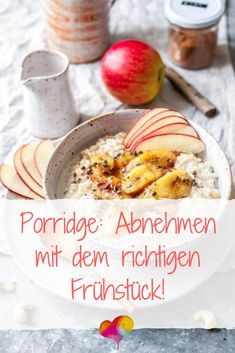 Porridge: Lose weight with the right breakfast! - Porridge: Lose weight with the right breakfast! Low Fat Diets, No Carb Diets, Spicy Recipes, Healthy Recipes, Healthy Party Snacks, College Snacks, Breakfast Porridge, Low Carb Lunch, Fiber Foods