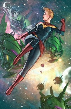 Marvel Comic Character, Comic Book Characters, Comic Book Heroes, Marvel Characters, Comic Books Art, Comic Art, Book Art, Ms Marvel Captain Marvel, Miss Marvel