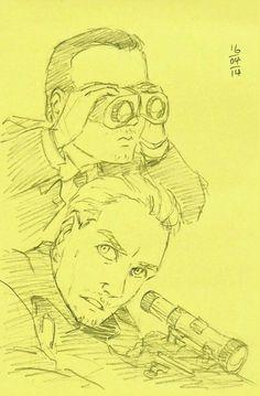 Sebastian Moran / Jim Moriarty = MorMor
