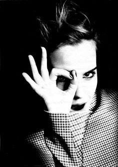 Emma Watson by Kurt Iswarienko.