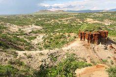 La garganta de Olduvai constituye uno de los lugares más importantes en el este de África en relación a yacimientos paleontológicos y arqueológicos prehistóricos olduvayenses y achelenses.