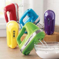 Cuisinart® Power Advantage™ Hand Mixer, Parsley ~ So pretty! Kitchen Items, Kitchen Gadgets, Rainbow Kitchen, Kitchen Must Haves, My Home Design, Mixers, Kitchen Colors, Cool Gadgets, Retro