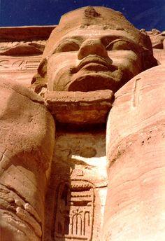 Perfil aéreo de Ramses II