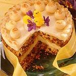 Simnel - a delicious British Easter cake.