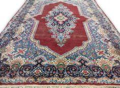 Perzisch Kirman Tapijt Vintage Sleets 200 x 310 cm