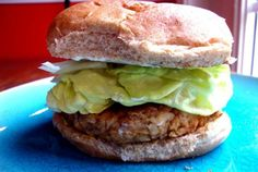 Simple and Yummy Textured Soy Protein Burgers   VegWeb.com, The World's Largest Collection of Vegetarian Recipes