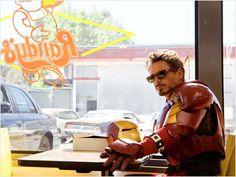 Robert Downey Jr. as Tony Stark - Iron Man.