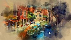 Watercolor Photoshop Action Tutorial - http://tutorials411.com/2016/10/15/watercolor-photoshop-action-tutorial/