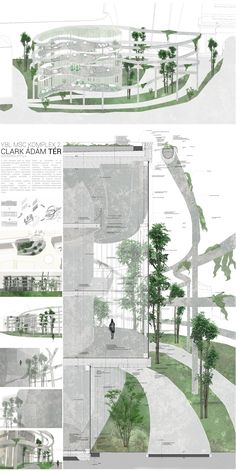 Clark Adam Space Complex Design - Riot - Clark Adam Space Complex Design Clark Adam Space Complex Design You are in the right place about Ar - Architecture Concept Drawings, Architecture Panel, Architecture Portfolio, Architecture Diagrams, Architecture Layout, Famous Architecture, Landscape Design Plans, Landscape Architecture Design, House Landscape
