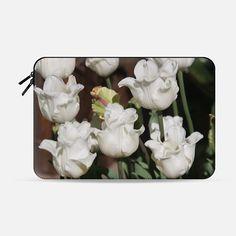 White tulips - Macbook Sleeve
