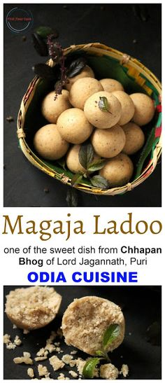 First Timer Cook: Magaja Ladoo | Wheat Flour Ladoo from Chhapan Bhog