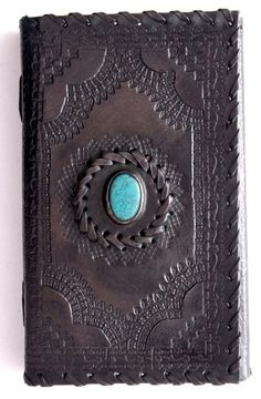HANDMADE 100% LEATHER VINTAGE LOOK RAJASTHANI DIARY NOTEBOOK JOURNAL   Size - 9z5 inches   As the materials used are natural, this product is 100%
