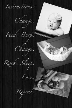 #motherhood / jajaja solo cuando son así de chikis! y se pasa muy rápido :¨)