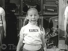 most people get named after a family member...i got named after a child star, whom anyone over the age of 40, ok 50 will recognize : )