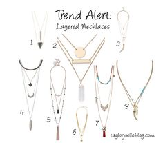 Trend Alert: Layered Necklaces