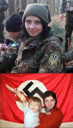 Neonazism in Ukraine supported by UE and US
