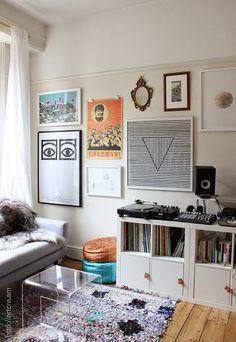 antes-y-despues-cuarto-de-estar-salon-before-after-living-room Living At Home, Living Room Modern, Small Living, Living Room Designs, Living Spaces, Living Rooms, Small Room Design, Room Tour, Living Room Inspiration