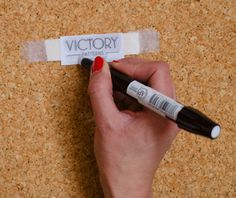 make your own sew-in labels. | via victory patterns.