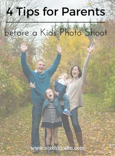 4 Tips to Give Parents Before a Children's Session - Sixth Bloom- Lifestyle, Photography & Family Blog