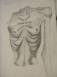 Anorexic Study 02 by GoodImGod2.deviantart.com on @DeviantArt