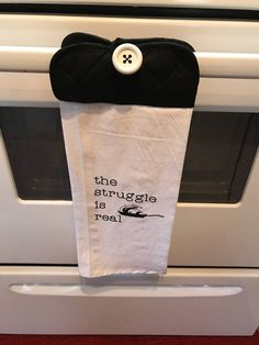 Hanging Kitchen Towel by ColleenSchnable on Etsy