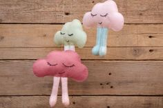 Cloud Baby Mobile free pattern & tutorial