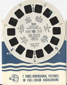 Cisco Kid and Pancho View-Master Reel by COLLECTORSCENTER on Etsy