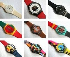 Swatch, must have had a dozen of these
