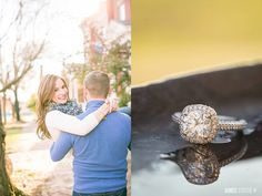 Roseanna + Kevin's sweet, sunny Church Hill RVA engagement