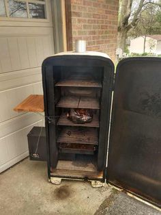 How To Convert An Old Refrigerator Into A Pellet Smoker