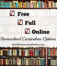 Looking for FULL homeschool curriculum options that are completely FREE? Check out this HUGE list of free, full, and online homeschool curriculums!