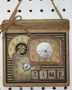 altered coaster hangings | Altered coaster..