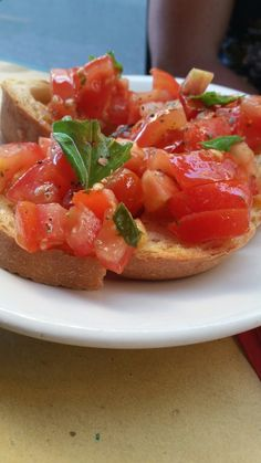 Italy Bruschetta, Italy, Ethnic Recipes, Food, Italia, Meals, Yemek, Eten