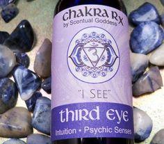 "Third Eye Chakra Spray ""I See"" Increase Your Intuition, Psychic Senses & Improve Meditation Visions"