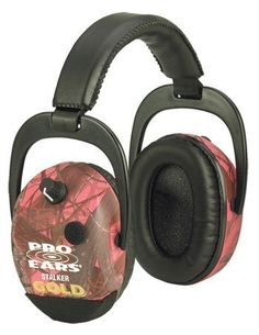 Pro Ears Camo Stalker Gold Hearing Protection and Amplification Ear Muffs, PINK CAMO by PRO EARS, http://www.amazon.com/dp/B0030YW1VY/ref=cm_sw_r_pi_dp_mtVFrb1YX0NNN