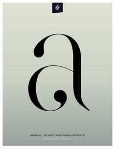 Super Sexy Lowercase a. Made with the new Lingerie Xo - The Sexiest, Most Powerful Typeface Yet. By Moshik Nadav Typography. Available on: www.moshik.net #Lowercase #g #lingeriexo #xo #typography #type #newfont #newtypeface #fonts #font #typeface #fashion #fashiontypography #fashionmagazine #logo #logotype #moshik #moshiknadav #ligatures #ligature #typografie #swashes #graphicdesign #branding #packaging #lowercase #a