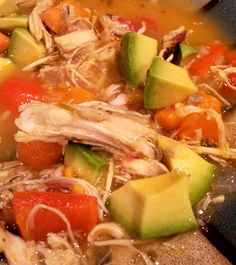 Pretty easy Paleo Mexican Soup - Made this! Add a little lime and Tabasco... Delish!