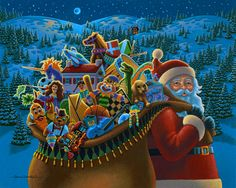 Christmas Delivery by Eric Dowdle - St. Nicholas