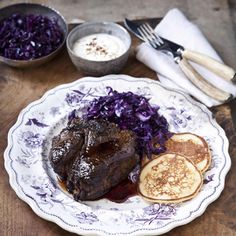 Venison steaks recipe. For the full recipe, click the picture or visit RedOnline.co.uk