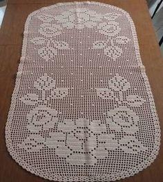Crochet Table Runner Pattern, Crochet Lace Edging, Crochet Doily Patterns, Crochet Tablecloth, Thread Crochet, Crochet Doilies, Crochet Flowers, Fillet Crochet, Diy And Crafts