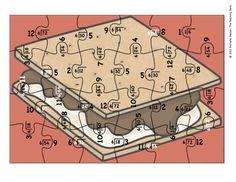 Division Puzzle Covers Divisor 6