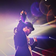 JT at the iTunes festival .. Such a wonderful show.