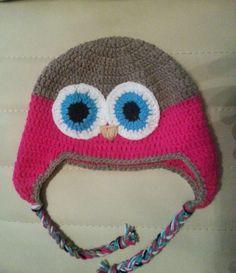 handmade crochet hat Winter Hats, Crochet Hats, Beanie, Handmade, Knitting Hats, Hand Made, Beanies, Craft, Handarbeit