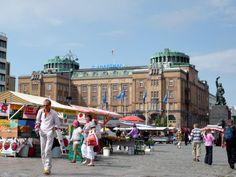 The Market Square, Vaasa, Finland