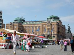 The Market Square, Vaasa, Finland