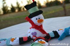 Χειροποίητα Χριστουγεννιάτικα στολίδια από το Craftaholic - Craftaholic