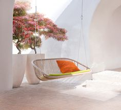 SWING'N INTO SPRING: A Selection of Favorites  |  Ash wood swing by Paola Lenti