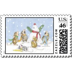 """House-Mouse Designs® Postage Stamps - This product was recently purchased off from our """"House-Mouse Designs® on Zazzle"""" store front. Click on the image for more information."""