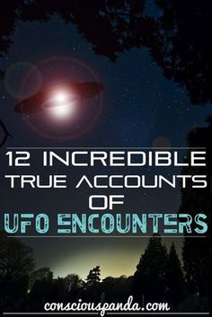 12 Incredible True Accounts of UFO Encounters Ufo Stories, Paranormal Stories, Creepy Stories, True Stories, Aliens And Ufos, Ancient Aliens, Creepy But True, Creepy Stuff, Alien Abduction Stories